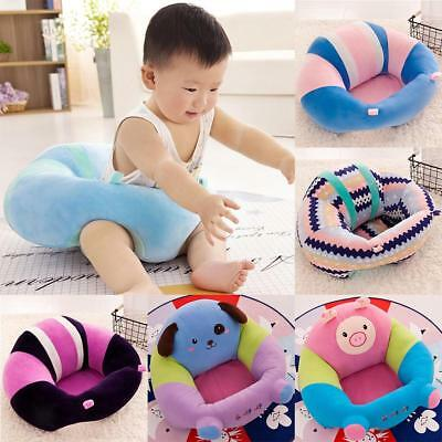 Lovely Infant Baby Support Seat Soft Car Pillow Cushion Sofa Plush Toys Cotton