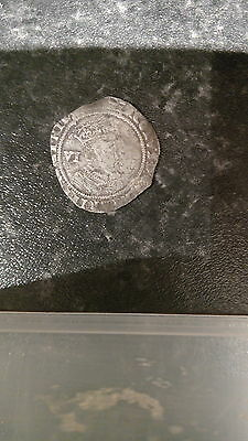 james 1st hammered silver sixpence