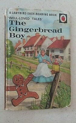 Vintage Ladybird Book Well Loved Tales The Gingerbread Boy