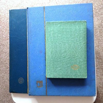 (Price Reduction) Gb Stamp Stock Albums Lots Of Mint Stamps.please Look.