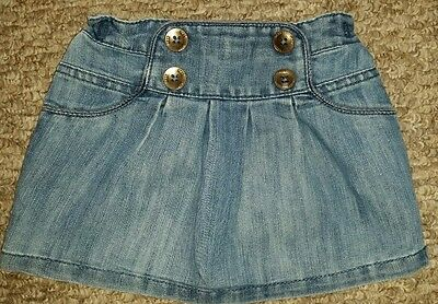 Baby girl's Next denim skirt size 9 -12 months