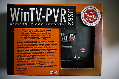 Hauppage 949 WINTV-PVR-USB2  tv tuner personal video recorder xlnt