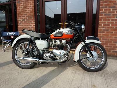 Triumph Bonneville T120R 1959 A1 Restoration Perfection