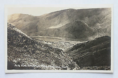 Real photo postcard RPPC - PIPESTONE PASS WHITEHALL, MONTANA