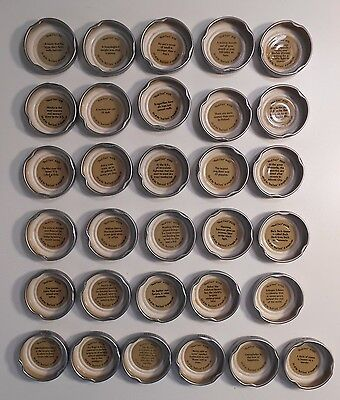 """Lot of 31 Snapple Bottle Caps """"Real Facts"""" No Duplicates"""
