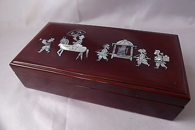 wooden trinket box chinese