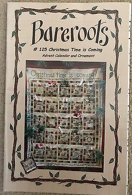 Christmas Time is Coming Advent Calendar Pattern