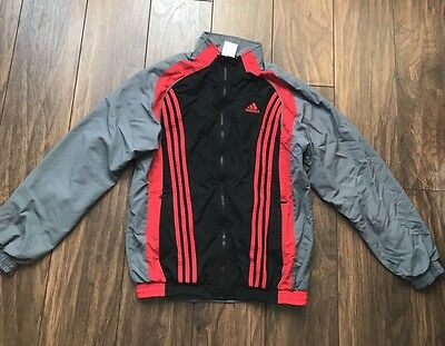Mens Adidas Zip Up Jacket Black Size  Medium