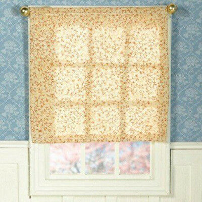 Dolls House Miniature 1:12th Scale Roll Up Blind