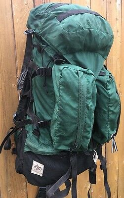 Vintage GREGORY BACKPACK Classic Green Hiking Pack San Diego USA