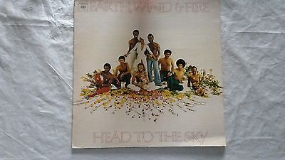 """Earth, Wind & Fire  """"head To The Sky""""  Vinyl Lp Records  Soul /funk  Canadian"""