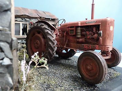 Universal Hobbies Nuffield Universal Four 1:16 Model Tractor-Custom Weathered