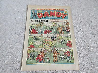 THE DANDY COMIC- No 922, July 25th 1959- Good/fair condition