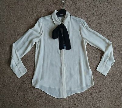 Marks and Spencer M&S Collection womens cream blouse size 10 BNWT