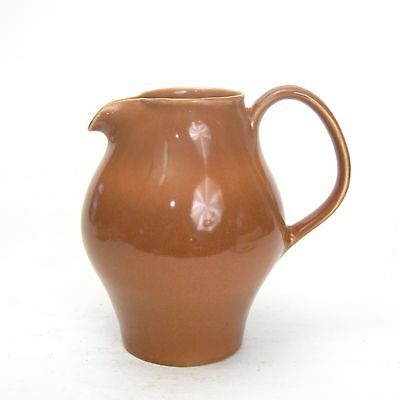 Russel Wright-Iroquois-Casual China-Ripe Apricot-Redesigned Water Pitcher