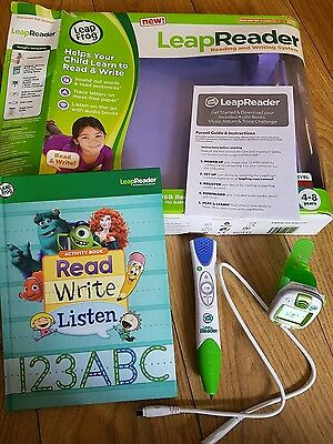 Leapfrog leapreader learning system and Leapband activity watch