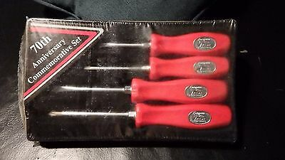Snap on 70th anniversary screwdrivers