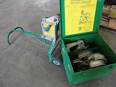 Greenlee 1818 Mechanical Bender With   E.m.t.   Rigid & Aluminum Shoes