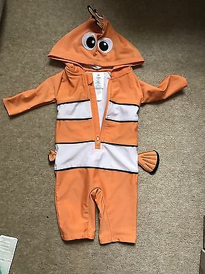 Disney Sunsuit Swimsuit 3-6 Months Finding Nemo