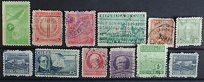 Central American Stamps Used