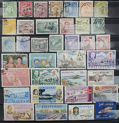 Small Collection of Stamps from the Philippines