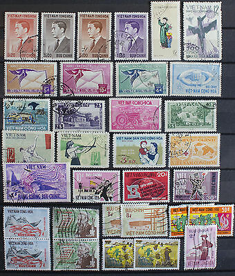Collection of Stamps from Vietnam