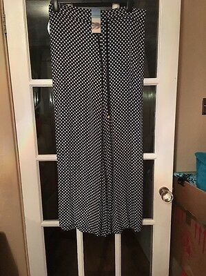 M&S  Wide Leg Trousers Size 14