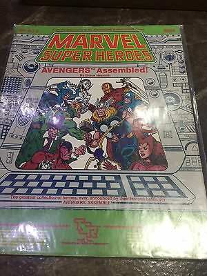 Marvel Super Heroes Avengers Assembled MH AC2 Role Playing Game Book 6854