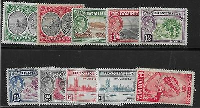 British Dominica Mh/used Stamps