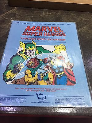 Marvel Super Heroes TSR, MH-6 Thunder Over Jotunheim Role Playing Game Book 6862