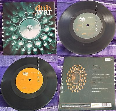 "DUB WAR: Cry dignity 7"" Skindred singer! Check video. Numbered Limited edition"