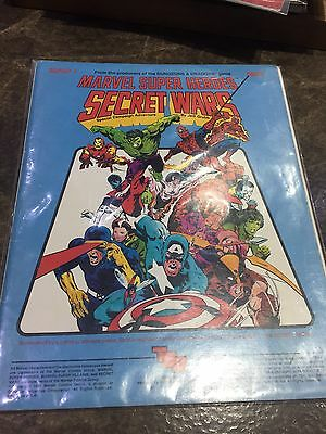 Marvel Super Heroes TSR MHSP-1 Secret Wars Role Playing Game Book 6860