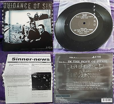 "Guidance Of Sin: Acts 7"" rare 1999 Amon Amarth members Check VIDEO. Death Metal"