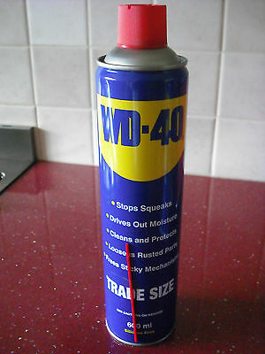 WD40 600ml SPRAY CAN - TRADE SIZE