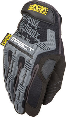 Mechanix Wear Tactical M-Pact  Work Mens Gloves Impact Protection Black Grey