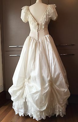 Vintage 80s Margaret Lee Wedding Dress New & Unworn Dresses Bo Peep Princess