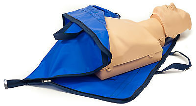 CPR AED Training Manikin Adult & switchable Child Manikin with carry bag/mat NEW