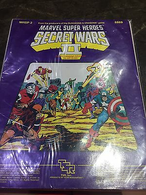 Marvel Super Heroes TSR MHSP 2 Secret Wars II Role Playing Game Book 6869