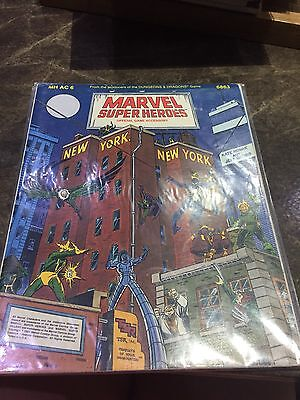 Marvel Super Heroes TSR MH AC 6 New York New York Role Playing Game Book 6863