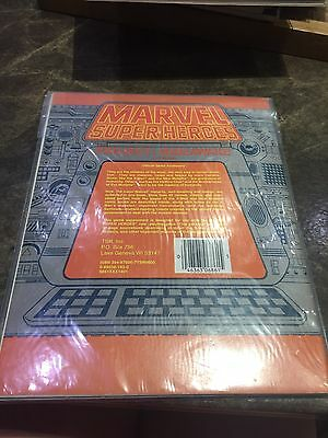 Marvel Super Heroes TSR Project:wideawake Role Playing Game Book 6861