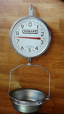 Hobart Hanging Dial Scale 2 Sided Commercial (excelent conditi