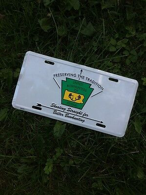 Archery United Bow Hunters Of Penna License Plate Preserving The Tradition