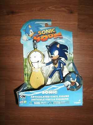 """NEW Sonic Boom Articulated Large 6"""" Vinyl Figure Toy Collectible"""