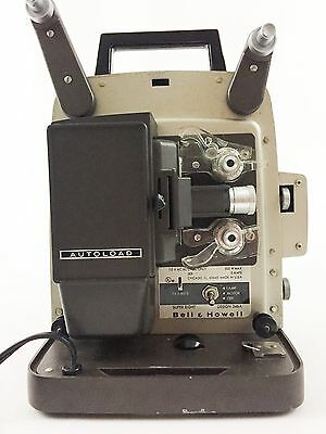 VINTAGE BELL & HOWELL Design 346A SUPER EIGHT AUTOLOAD Movie Projector in Case