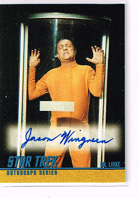Star Trek T.o.s. A106 Jason Wingreen Autograph