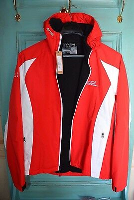 Original Coca-Cola Jacket Hooded Size M New with Tag Lined