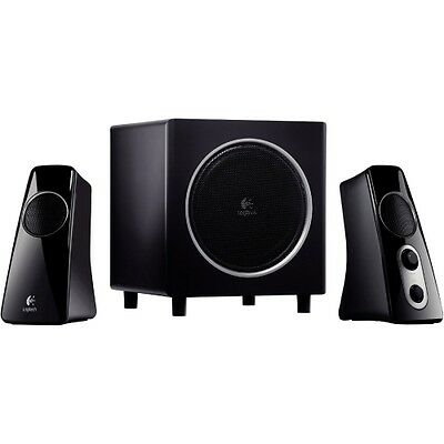 NEW Logitech 980-000319 Z523 Speaker System 2.1 Omnidirectional Spkrs 980000319