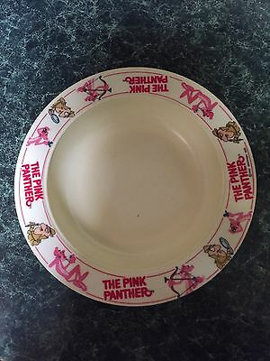 Rare Vintage Pink Panther Child's Bowl From The 1970's
