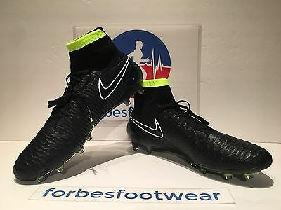Nike Magista Obra Fg Acc Soccer Cleats Black/white/volt 641322-017