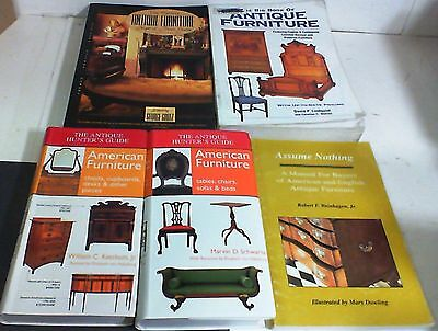 Lot Of 5 Antique Furniture Books